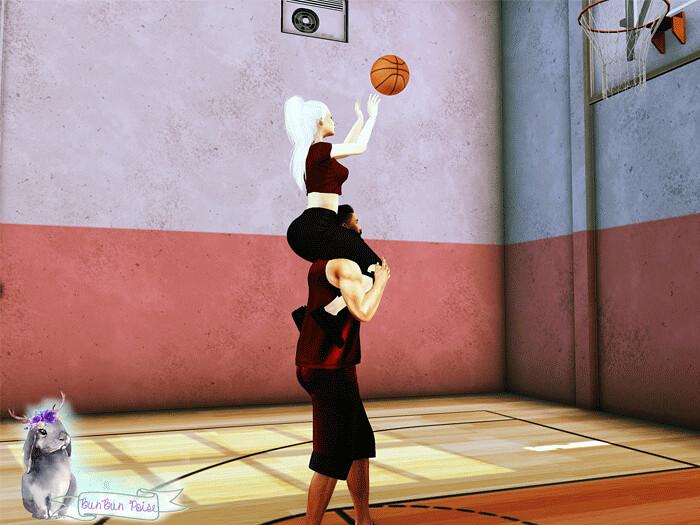 Basketball Lovin' Pose!
