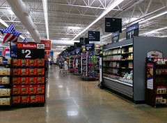 OBWM, grocery action alley, reverse angle view