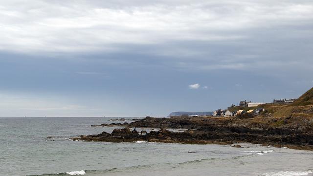 2018 Scotland day 05-30 Boyndie Bay rocks