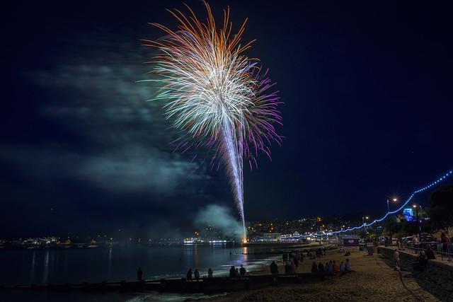 Swanage Carnival Fireworks 01-08-2018 20
