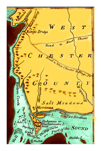 The Bronx (then part of West Chester County) -- 1778