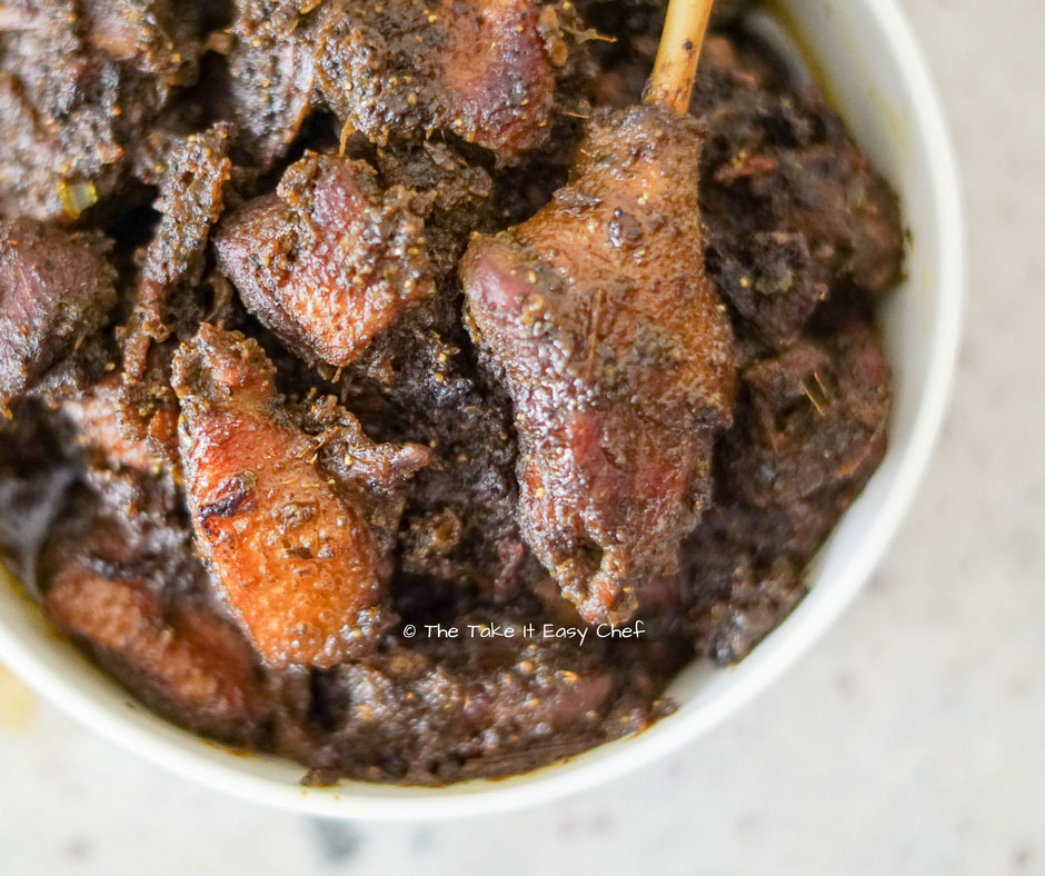 Kerala Duck Pepper Roast - Kottayam Style