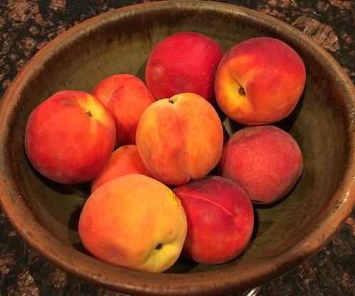 At Home:  NJ Peaches
