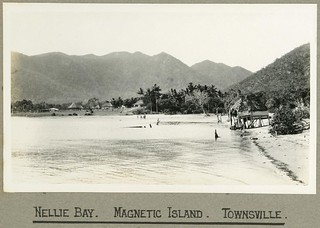 Nellie Bay on Magnetic Island off Townsville, Queensland, 1924