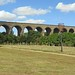 Railway Viaduct from Chappel Millennium Green, Essex