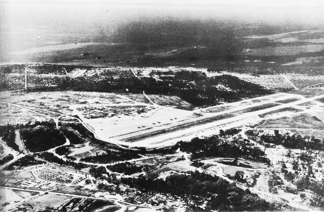 Henderson Field, Guadalcanal, August, 1944.