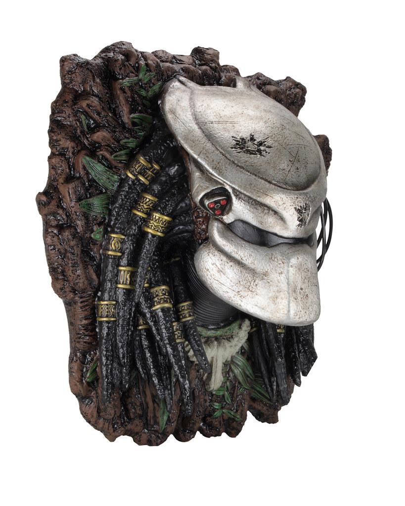 連終極戰士也逃不出你的手掌心?! NECA《終極戰士》終極戰士壁掛胸像 Predator Wall-Mounted Bust