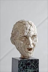 Tête de vieil aveugle chantant de Camille Claudel (Musée Camille Claudel, Nogent-sur-Seine)
