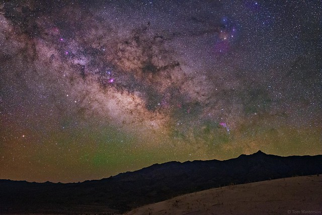 Sagittarius Rises over the Mojave National Preserve