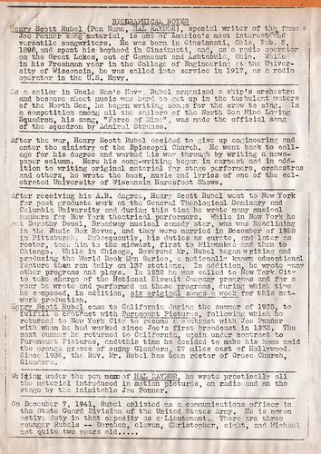 Heinz Rubel Biography to 1941