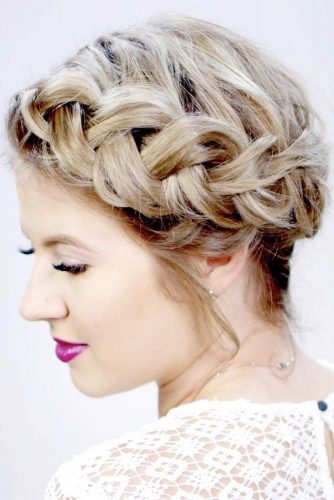 Most Stunning Braided Short Hair Styles To Top Level Of Beauty 14