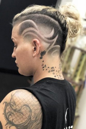 LATEST UNDERCUT FADE HAIRSTYLES FOR BOLD WOMEN TO AMAZE YOUR FRIENDS 8