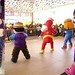 I enjoyed dancing with Jollibee at the mall opening