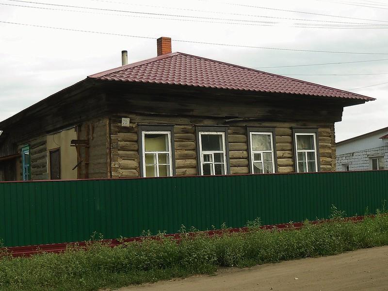 Улица Луначарского № 201.