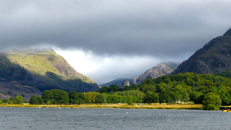 This is a picture of Llanberis lake