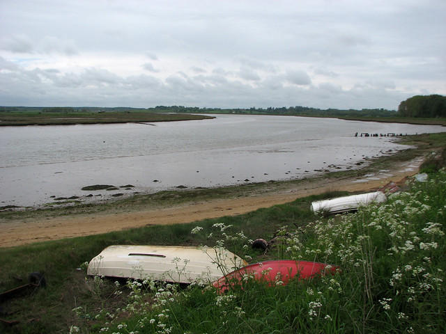 The Butley River near Orford