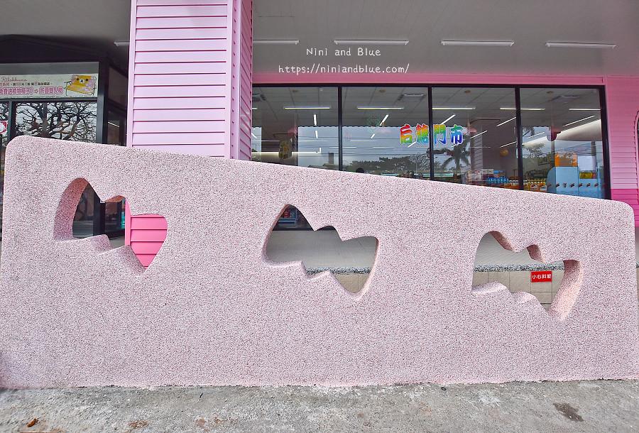 后里 特色 粉紅7-11 台中后里景點11