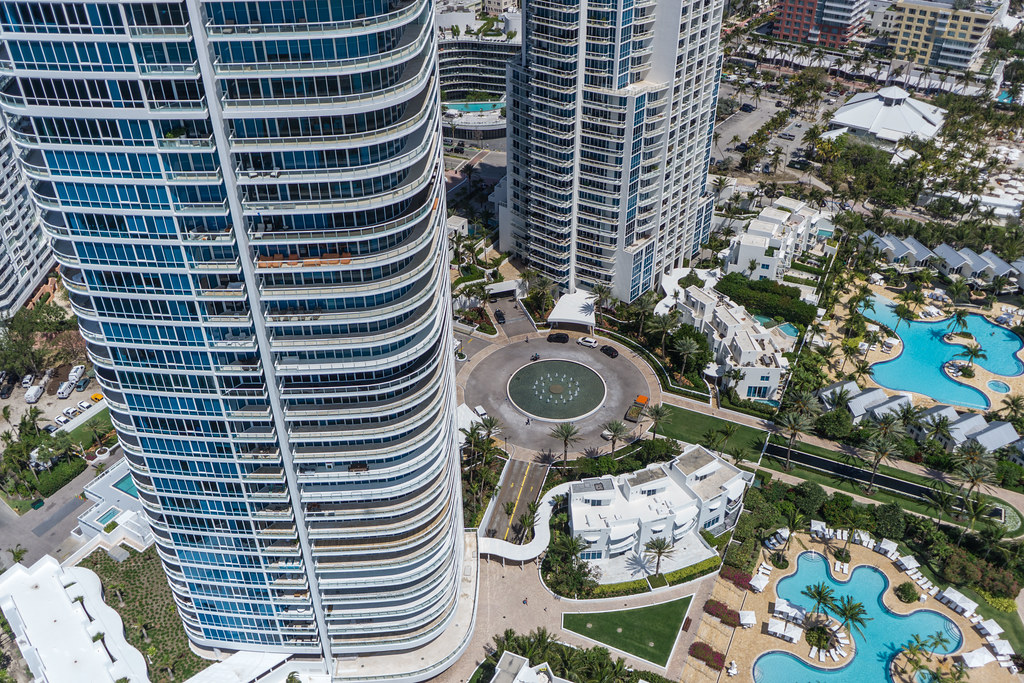 Miami South Beach - From a Kite Above