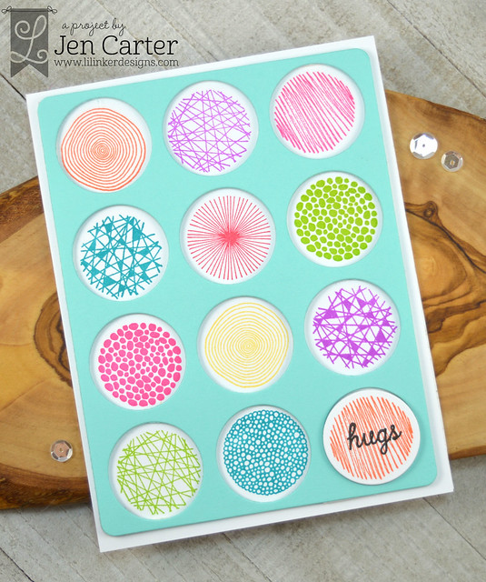 Jen Carter Perfect Palette Spiffy Spots Hugs wm
