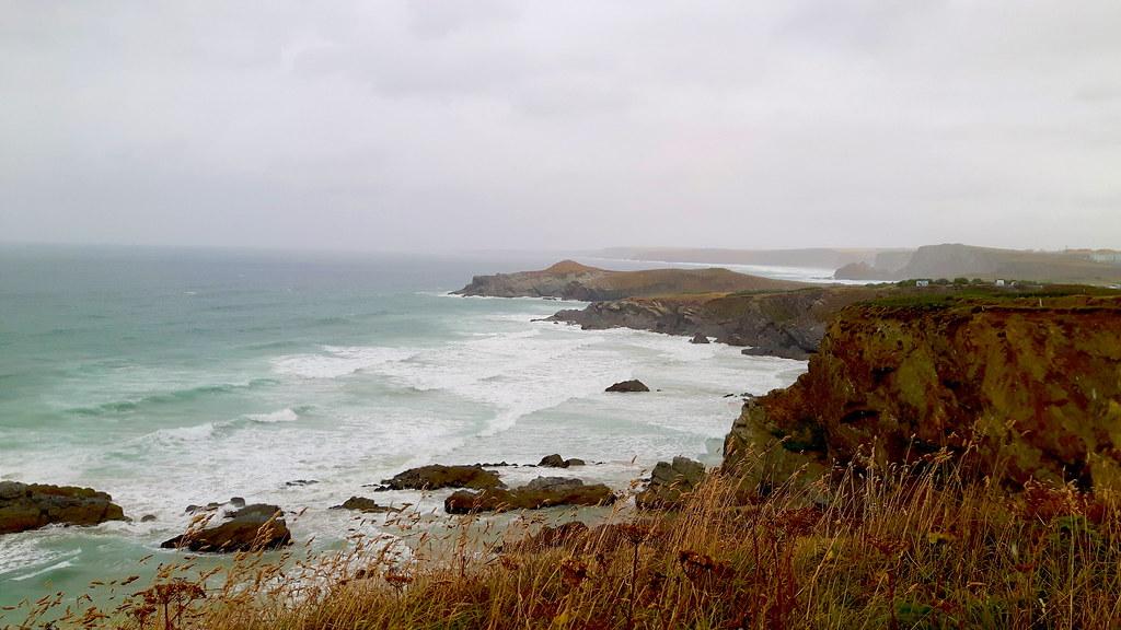 Lusty Glaze Beach , Newquay Cornwall