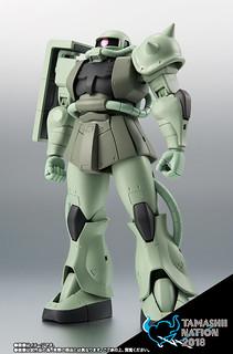 ROBOT魂 《機動戰士鋼彈》MS-06 量產型薩克II ver. A.N.I.M.E.~First touch 2500~【TAMASHII NATION 2018 -青之衝撃- 紀念商品】