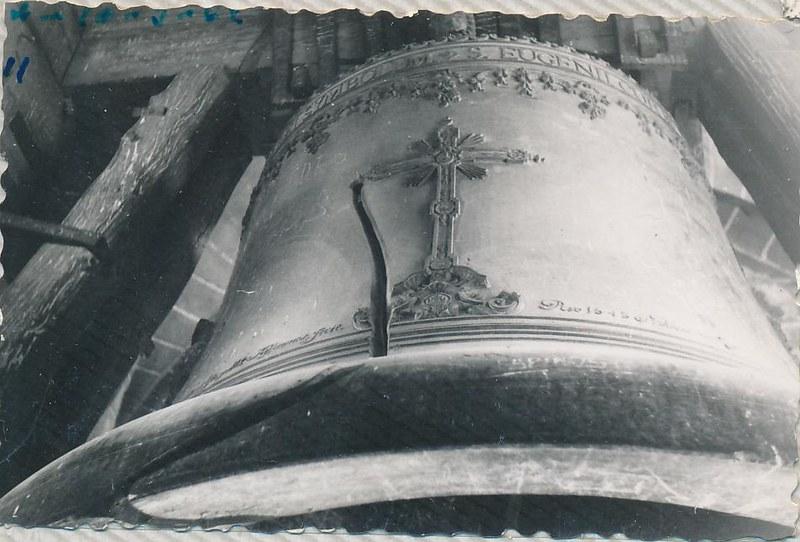 Campana Gorda de la Catedral en 1962. Fotografía de Julián C.T.