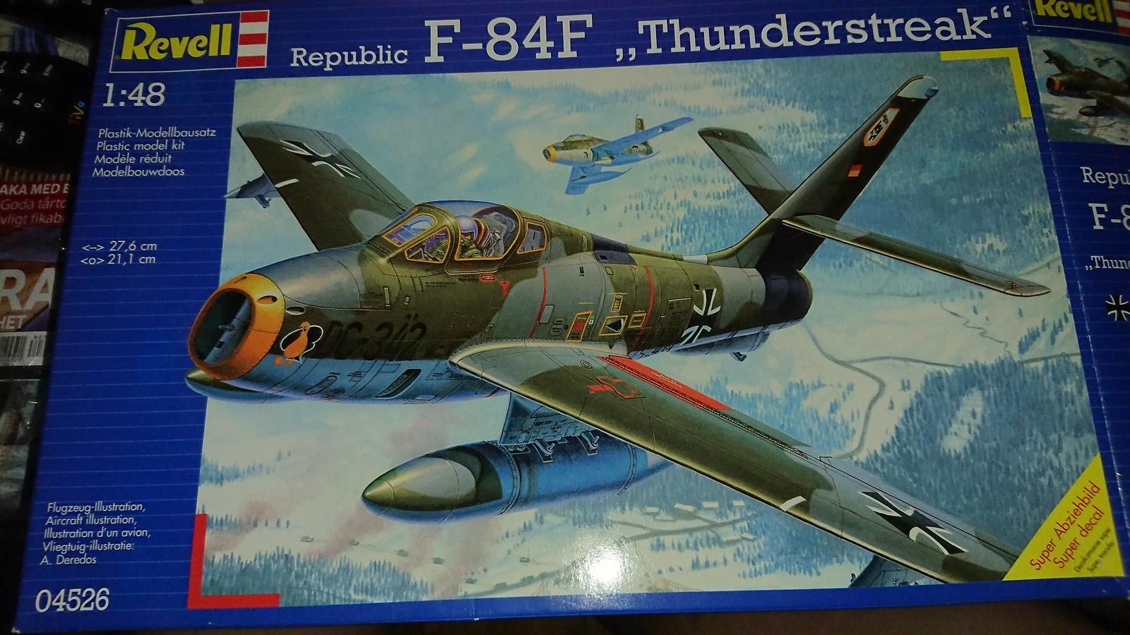 Bundesluftwaffe F-84F JaboG 33 - Revell 1/48 42754471885_f070758ae1_h