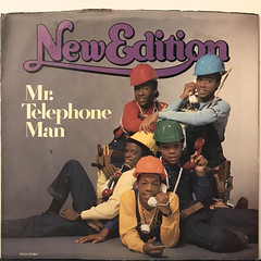 NEW EDITION:MR. TELEPHONE MAN(JACKET A)