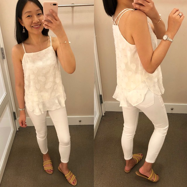 0483d02a23d How To Style A Linen Moto Jacket + Fitting Room Reviews - what jess wore