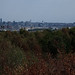 A distant Liverpool skyline from Bidston Hill, Wirral