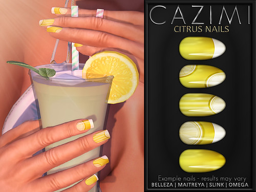 Citrus Nails - Lemonade for WOH5
