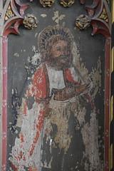 rood screen: St Simon (15th Century)