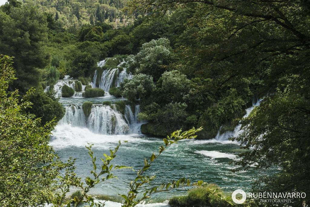 Cascadas de Krka en Croacia