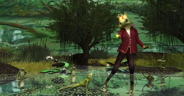 The Frog Prince-The Spell Will Soon Be Broken