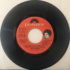 JAMES BROWN:PAPA DON'T TAKE NO MESS(RECORD SIDE-A)
