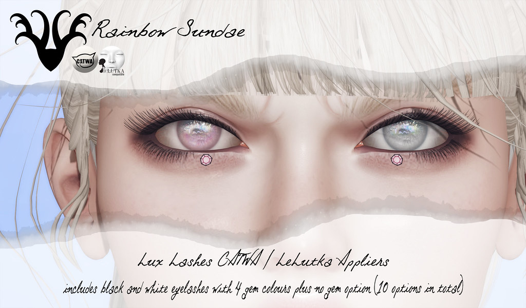 *Rainbow Sundae* Lux Lashes for The Saturday Sale - TeleportHub.com Live!