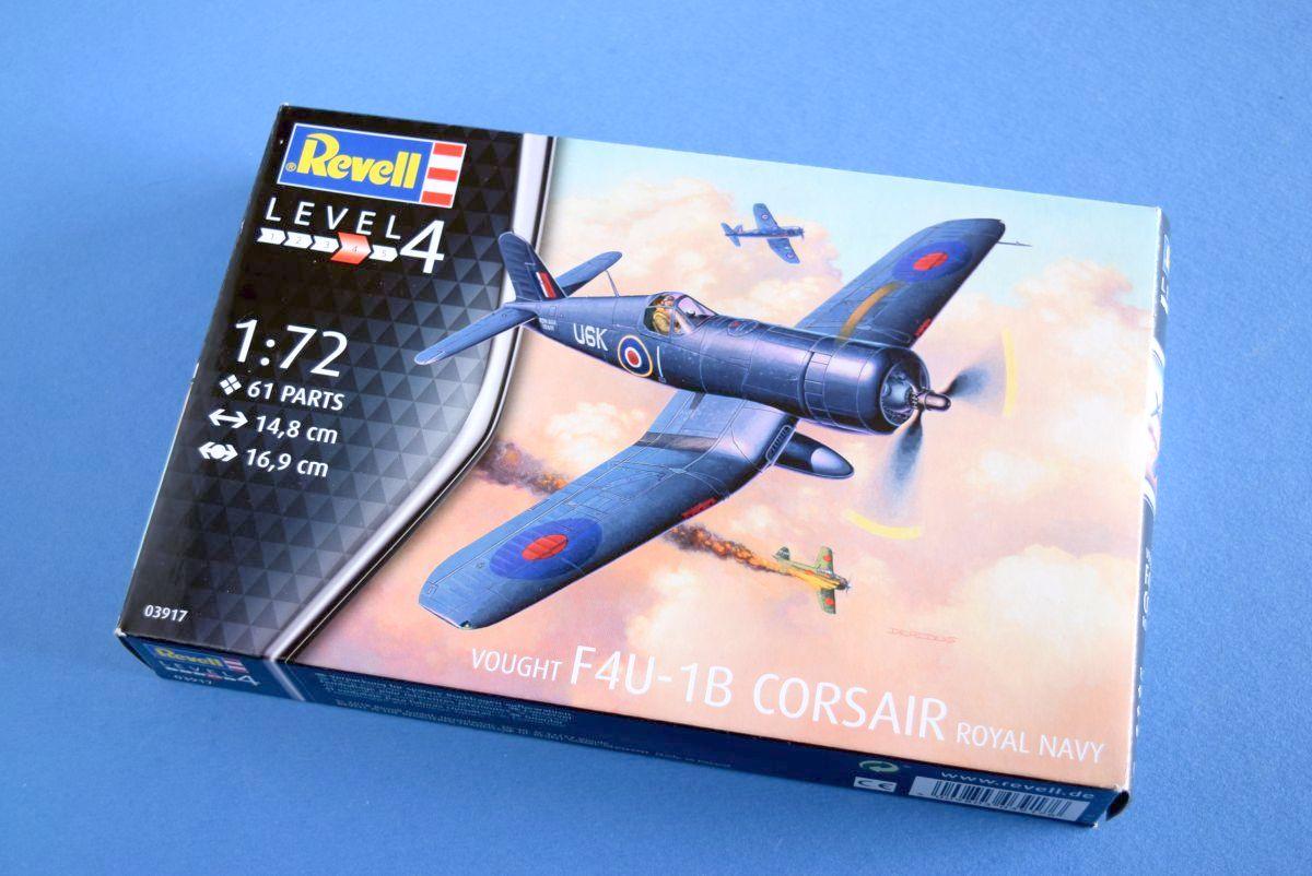Revell 03917-1//72 Vought F4U-1B Corsair Neu