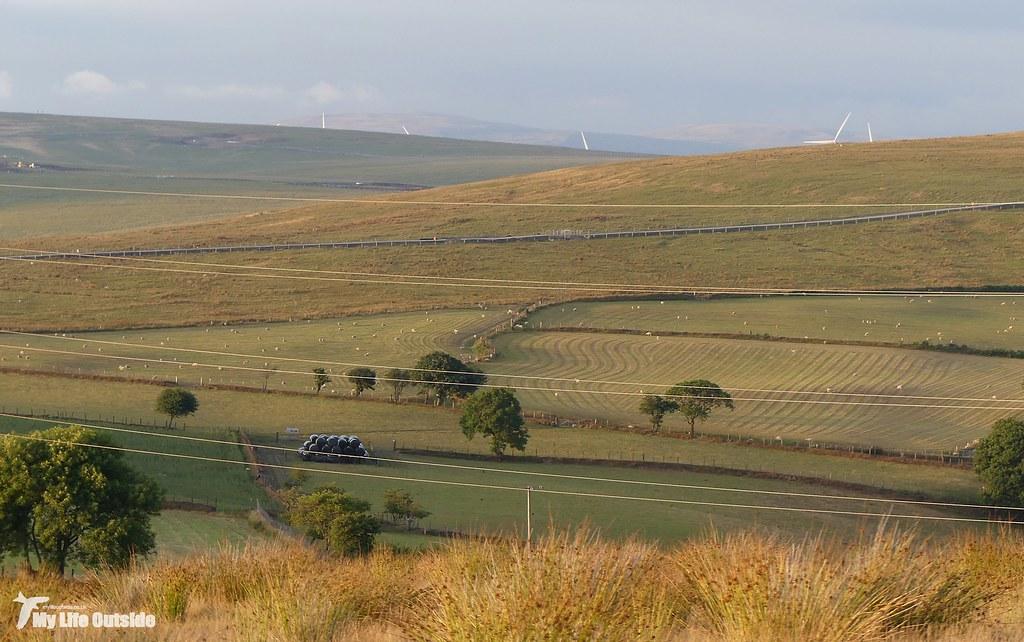 P1170627 - Route of the Mynydd y Gwair wind farm access track