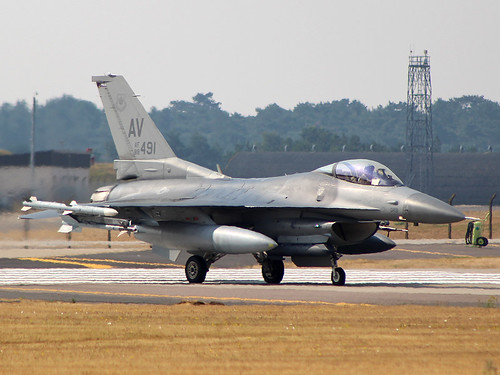 88-0491 F-16C Lakenheath 27-07-18