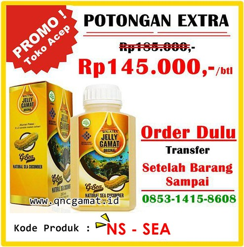 PROMO BESAR JELLY GAMAT ORIGINAL G-SEA