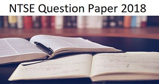 NTSE Question Paper 2018