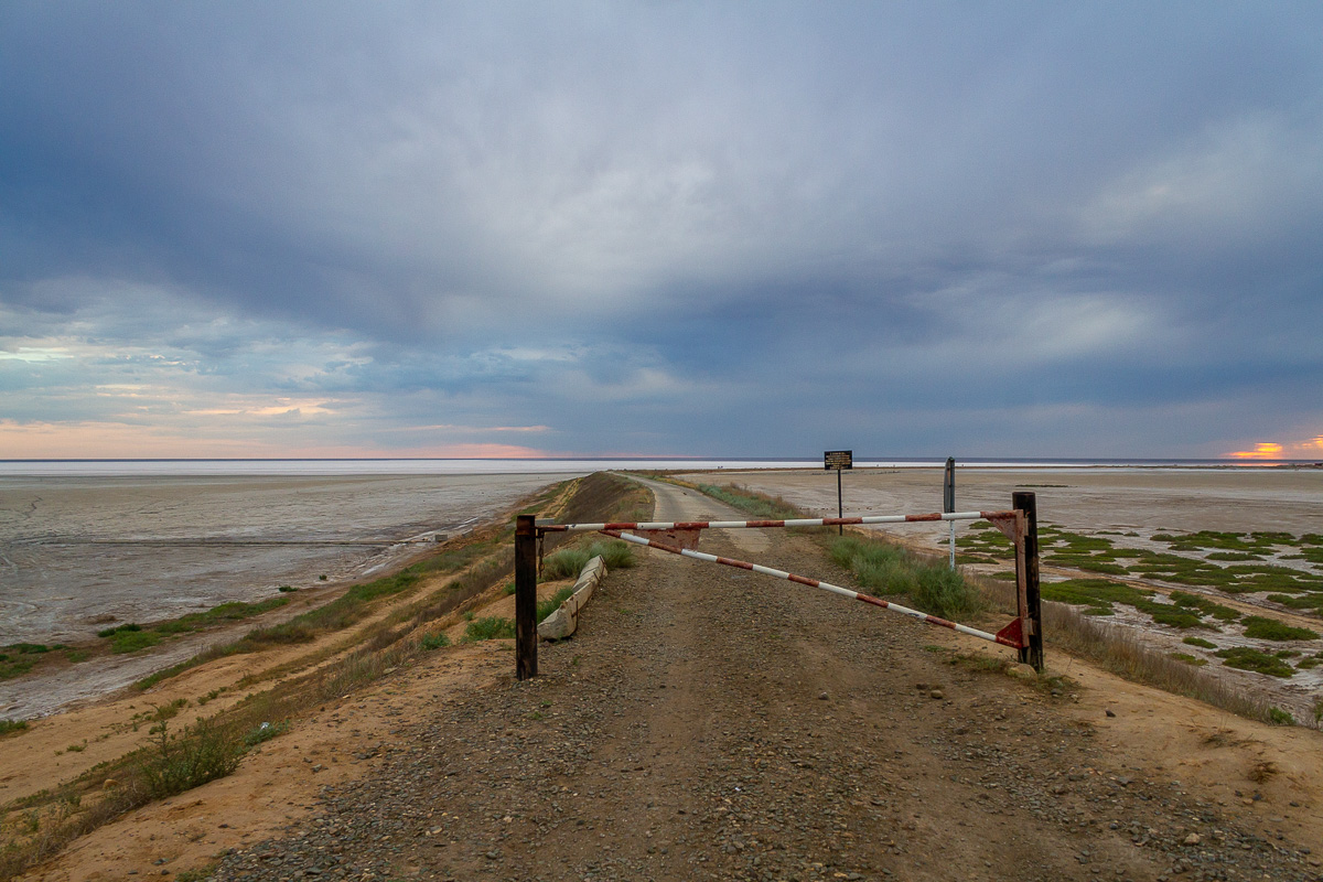 Закат на Эльтоне фото 2
