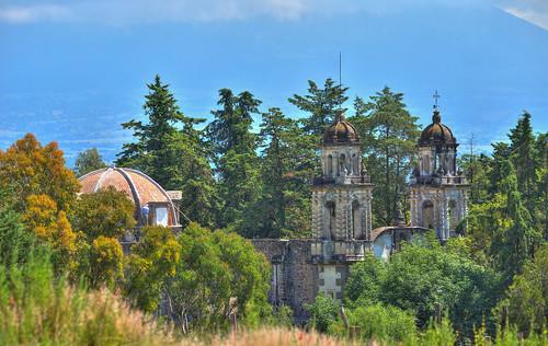 Templo San Juan Bautista, Amalucan, Puebla, Puebla, México.