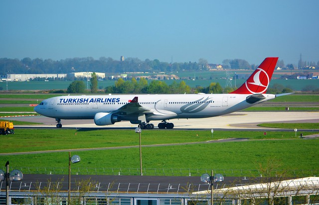 Photo:Turkish Airlines A330-303, TC-JNT, name Truva, as TK 1821 IST-CDG By usf1fan2