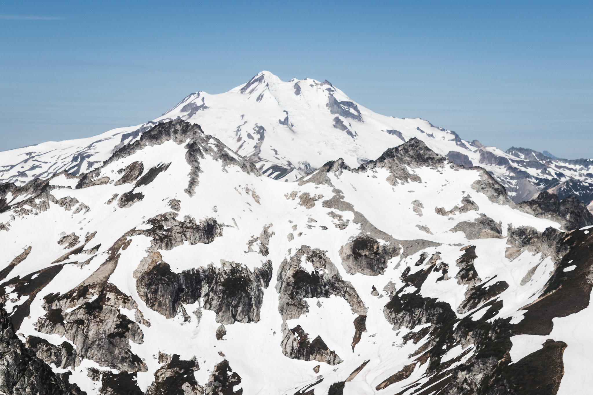 Glacier Peak with Napeequa and Cirque