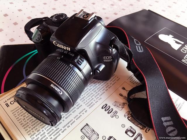 Canon 1100D: attrezzatura fotografica