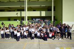 Recreo Entretenido en Escuela Marcela Paz