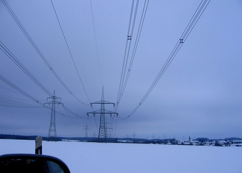 110 und 380 kV bei Pörmitz