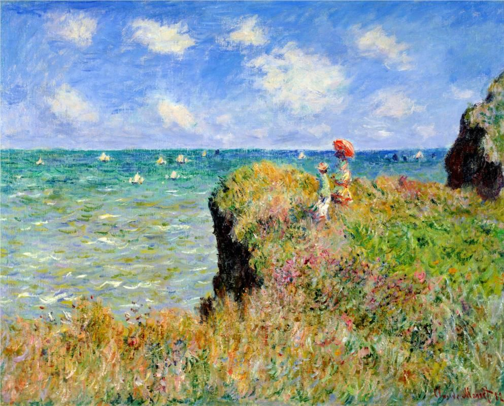 claude monet 3 essay Monet was born in paris and was the second son to claude adolphe monet and louise justine aubree on may 20th 1841, claude monet was baptized in the local parish church under the name of oscar-claude.