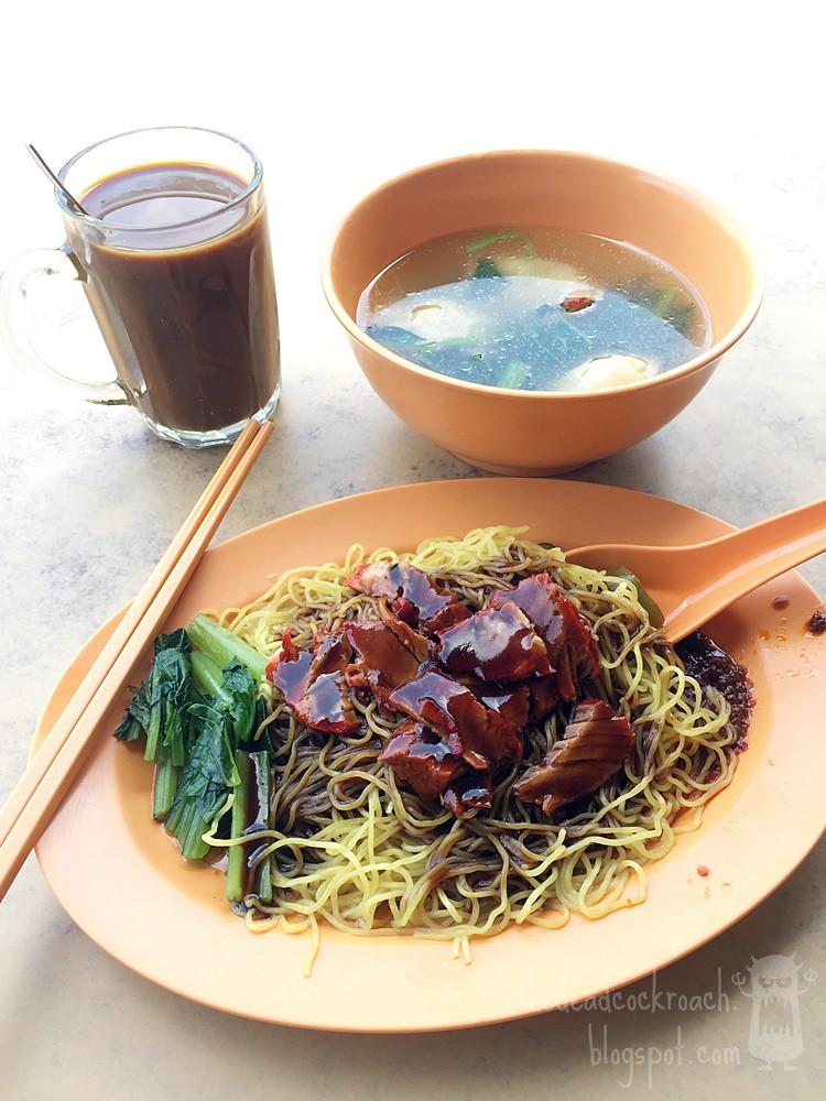 水饺, 水饺面, food, food review, hup choon eating house, binjai park, review, singapore, prawn dumpling noodle,prawn dumpling, sui kow,sui kow noodle,